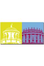 ART-DOMINO® BY SABINE WELZ Stuttgart - Kunstgebäude + Oper