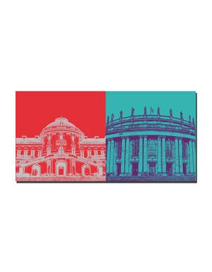 ART-DOMINO® BY SABINE WELZ Stuttgart - Schloss Solitüde + Oper