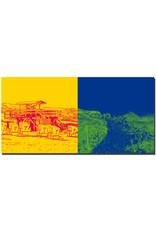 ART-DOMINO® BY SABINE WELZ Sylt - Strand am Roten Kliff + Wanderweg am Roten Kliff