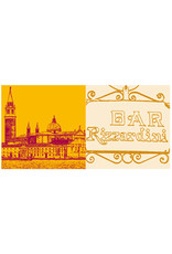 ART-DOMINO® BY SABINE WELZ Venedig - San Giorgio Maggiore + Bar Rizzardini