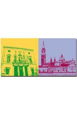 ART-DOMINO® BY SABINE WELZ Venedig - La Fenice + San Giorgio Maggiore