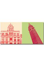 ART-DOMINO® BY SABINE WELZ Venedig - Torre dell'Orologio + Glockenturm