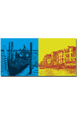 ART-DOMINO® BY SABINE WELZ Venedig - Gondel + Canal Grande