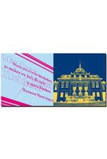 ART-DOMINO® BY SABINE WELZ Weimar - Heine Zitat + Schloss Belvedere