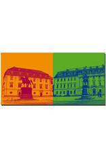 ART-DOMINO® BY SABINE WELZ Weimar - Anna Amalia Bibliothek + Fürstenhaus-hochschule für Musik Franz Liszt