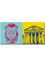 ART-DOMINO® BY SABINE WELZ Wiesbaden - Lilienwappen + Kurhaus/Casino