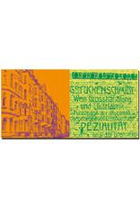 ART-DOMINO® BY SABINE WELZ Wilhelmshaven - Häuserzeile Stadthäuser + Alte Hausbeschriftung