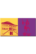 ART-DOMINO® BY SABINE WELZ Bern - Rathaus + Reiterdenkmal R. von Erlach