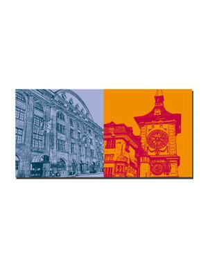 ART-DOMINO® BY SABINE WELZ Bern - Hotel Bern + Zytglogge