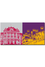 ART-DOMINO® BY SABINE WELZ Bern - Universität + Dächer