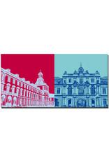 ART-DOMINO® BY SABINE WELZ Bonn - Universität + Koblenzer Tor