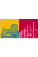 ART-DOMINO® BY SABINE WELZ Bonn - Sterntor + Bundeskunsthalle