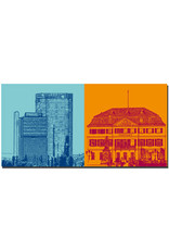ART-DOMINO® BY SABINE WELZ Bonn - Langer Eugen/Posttower + Postamt