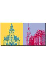 ART-DOMINO® BY SABINE WELZ Dortmund - Altes Hafenamt + Alter Markt / Historisches Zentrum