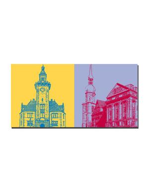 ART-DOMINO® by SABINE WELZ Dortmund - Old Port Authority + Old Market / Historical Center