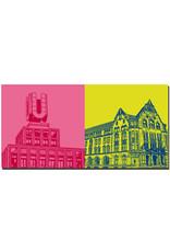 ART-DOMINO® by SABINE WELZ Dortmund - Dortmunder U + Friedensplatz
