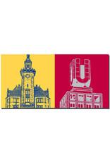 ART-DOMINO® by SABINE WELZ Dortmund - Altes Hafenamt + Dortmunder U
