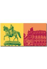 ART-DOMINO® by SABINE WELZ Dresden - King Johanns + Semperoper