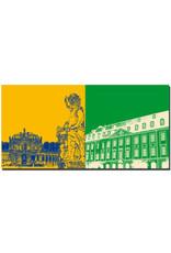 ART-DOMINO® by SABINE WELZ Dresden - Zwinger-Wallpavillon + Gewandhaus