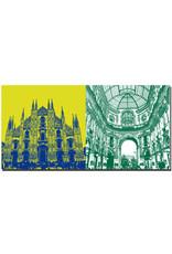 ART-DOMINO® BY SABINE WELZ Mailand - Duomo + Galleria Vittorio Emanuele