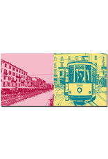 ART-DOMINO® by SABINE WELZ Mailand - Navigli + Tram Milan