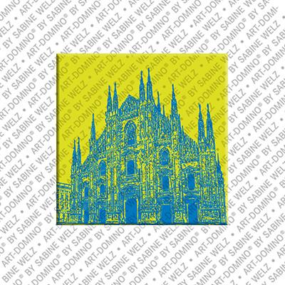ART-DOMINO® by SABINE WELZ Mailand - Duomo - 1