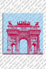 ART-DOMINO® by SABINE WELZ Milan - Arco della Pace