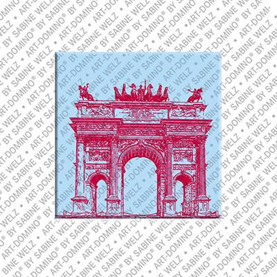 ART-DOMINO® by SABINE WELZ Mailand - Arco della Pace