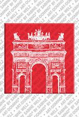 ART-DOMINO® by SABINE WELZ Mailand - Arco della Pace - 2