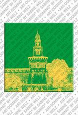 ART-DOMINO® by SABINE WELZ Mailand - Castello Sforzesco