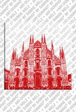 ART-DOMINO® by SABINE WELZ Milan - Duomo - 2