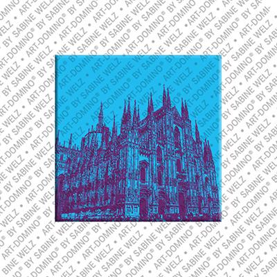 ART-DOMINO® by SABINE WELZ Mailand - Duomo - 3