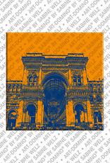 ART-DOMINO® by SABINE WELZ Milan - Duomo + Galleria Vittorio Emanuele