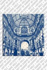 ART-DOMINO® by SABINE WELZ Milan - Galleria Vittorio Emanuele - 2