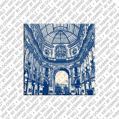 ART-DOMINO® by SABINE WELZ Milan - Galleria Vittoio Emanuele - 2