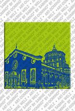 ART-DOMINO® by SABINE WELZ Mailand - St. Maria delle Grazie