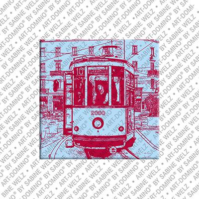 ART-DOMINO® by SABINE WELZ Mailand - Tram Milan