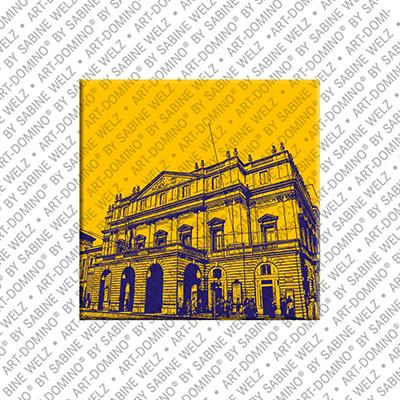 ART-DOMINO® by SABINE WELZ Mailand - Teatro alla Scala