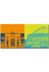 ART-DOMINO® BY SABINE WELZ Düsseldorf - Ehrenhof Nord + Tonhalle