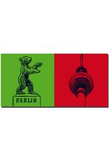 ART-DOMINO® BY SABINE WELZ Berlin - Berliner Bär Dreilinden + Fernsehturm