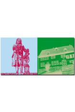 ART-DOMINO® BY SABINE WELZ Eisenach - Bachdenkmal + Bachhaus