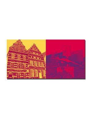 ART-DOMINO® BY SABINE WELZ Emden - Pelzerhaus + Kunsthalle