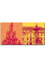ART-DOMINO® BY SABINE WELZ Erlangen - Hugenottenbrunnen + Paulibrunnen