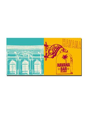 ART-DOMINO® BY SABINE WELZ Erlangen - Orangerie + Havana