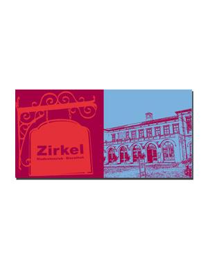 ART-DOMINO® BY SABINE WELZ Erlangen - Zirkel + Bahnhof