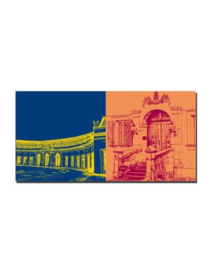 ART-DOMINO® BY SABINE WELZ Erlangen - Orangerie + Kitzmann Bräu