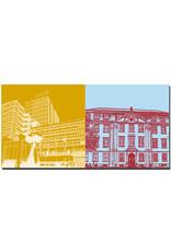 ART-DOMINO® BY SABINE WELZ Erlangen - Rathaus + Palais Stutterheim