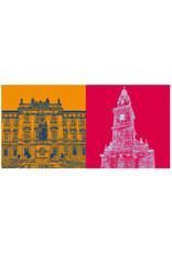 ART-DOMINO® BY SABINE WELZ Erlangen - FAU-Schloss + Dreifaltigkeitskirche