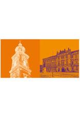 ART-DOMINO® BY SABINE WELZ Erlangen - Universitätskirche + Uni-Schlossplatz