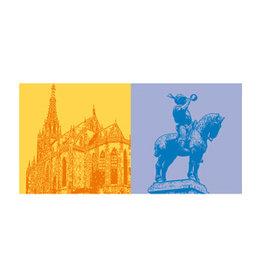 ART-DOMINO® by SABINE WELZ LEINWANDBILD - ESSLINGEN - 7305